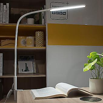 Long Arm Led Desk Lamp -10w-clip Flexible Table Light