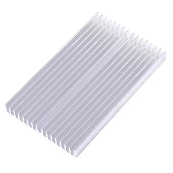 100x60x10mm Cooler Aluminum Grille Shape, Heat Sink Chip For Ic Led Power