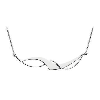 Dew Sterling Silver Set Large Genevieve 18 Necklace 90W4HP024
