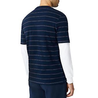 Fila Leon Striped T-Shirt Blue 03
