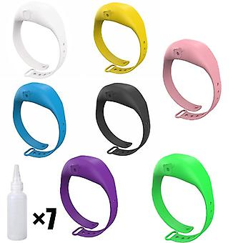 Silicone Hand Wristband Automatic Sanitizer Dispenser Bracelet