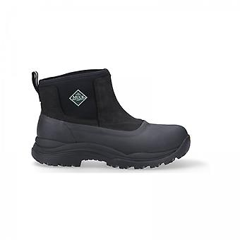 Muck Boots Arctic Outpost Mens Leather Wellington Boots Black