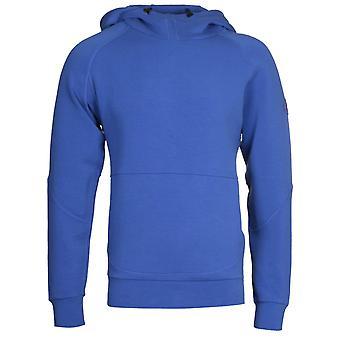 Napapijri Bible Ultramarine Blue Hooded Sweatshirt