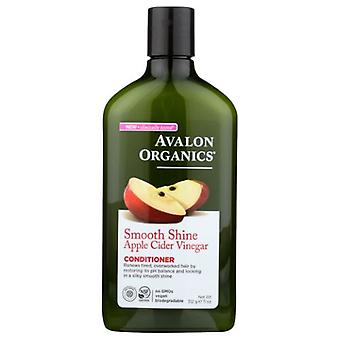 Avalon Organics Glätten Apfelessig Conditioner, 11 Oz