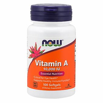 Now Foods Vitamin A, 100 Sgels