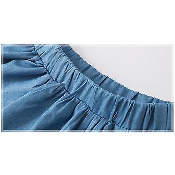Vêtements de bébé d'été, mini jupes en coton arc-en-ciel animal