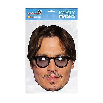 Mask-arade Jonny Depp Kjendiser Party Ansiktsmaske