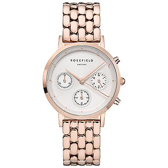Rosefield the gabby Watch for Women Analog Quartz with Stainless Steel Bracelet NWG-N91
