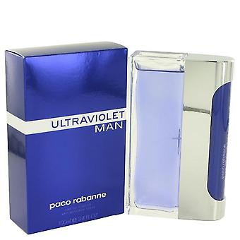 Ultraviolet Eau De Toilette Spray By Paco Rabanne 3.4 oz Eau De Toilette Spray