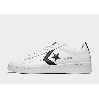 New Converse Women's Pro Leather Ox Trainers White