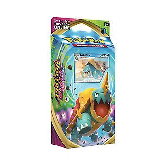 Pokemon Svärd & Shield 4 Levande spänning Drednaw Tema Deck