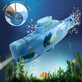 Mini Electric Remote Control Rc Submarine Toy Water Proof