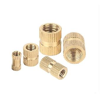 Brass Insert Injection Molding Knurled Thread Nuts