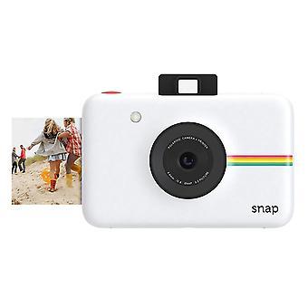 Polaroid snap instant digital camera (white) with zink zero ink printing technology white digital ca