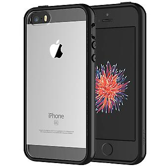 Jetech case for apple iphone se 2016 (not for 2020), iphone 5s and iphone 5, shockproof bumper cover wom65225