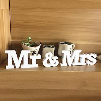 "Wooden Letters ""mr & Mrs "" , Wedding Decor"