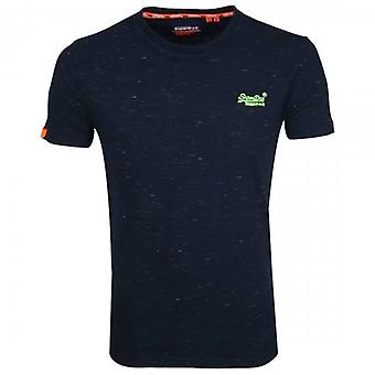 Superdry OL Vintage Embroidery SS T-Shirt Navy Space T1Z
