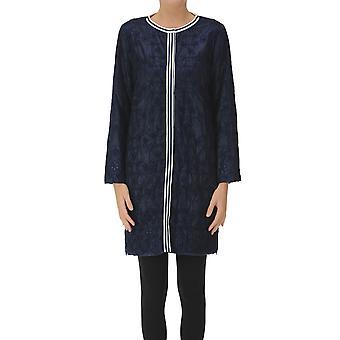 Ermanno Scervino Ezgl078069 Mujeres's Blue Nylon Coat