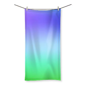 Abstract gradient 10 beach towel