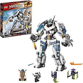 LEGO 71738 NINJAGO Legacy Zane's Titan Mech Csata