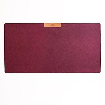 Tapis de bureau mice pad, table moderne, coussin en feutre de laine, tapis de souris de jeu