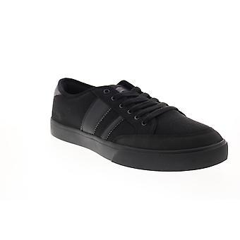 Osiris Kort VLC  Mens Black Canvas Skate Inspired Sneakers Shoes