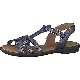 RICOSTA Open Toe Older Style Sandal Metalic Blue