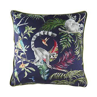 Evans Lichfield Jungle Lemur Cushion Cover