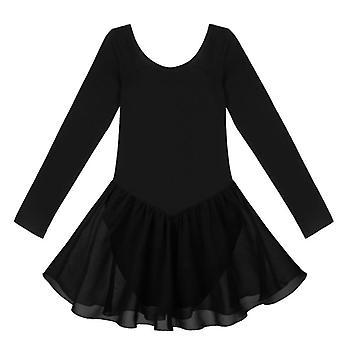 Long Sleeve Ballet Dress