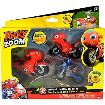 Ricky Zoom Hank & The Bike Buddies Adventure Set