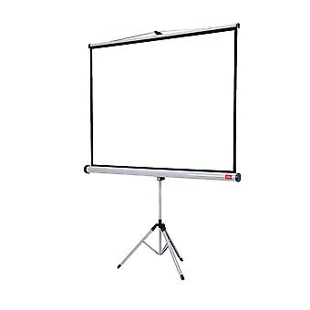 Nobo 657436 tripod projection screen home theatre/office/cinema, 4:3 screen format - 1500 x 1138 mm, matte white
