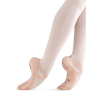 Bloch Dance Women's Pro Elastic Canvas Split Sole Ballet Shoe/Slipper