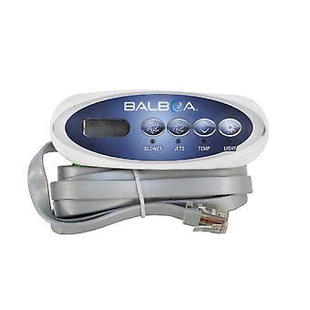 Balboa 52487 VL200 Mini Oval Topside Control Panel 3/4 Button