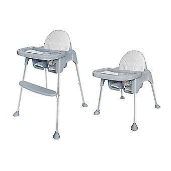 Cadeira de jantar cadeira alta - altura ajustável - 60x62x85 cm