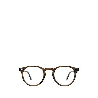 Garrett Leight GLENCOE olive tortoise unisex eyeglasses