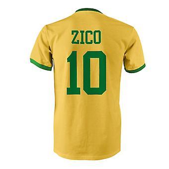 زيكو 10 البرازيل بلد المسابقة تي شيرت