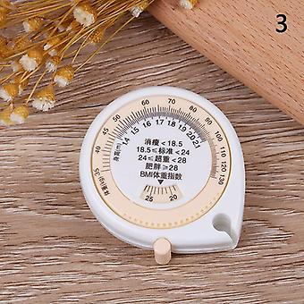 1pcs Bmi Body Mass Index Intrekbare Tape 150 Cm Maatregel Rekenmachine