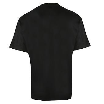 Emporio Armani EA Eagle Logo Printed Black T-Shirt