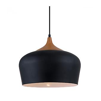 Lámpara Colgante Moderna Britta Nero