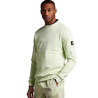 Lyle & Scott Casuals Zip Pocket Sweatshirt - Lucid Green