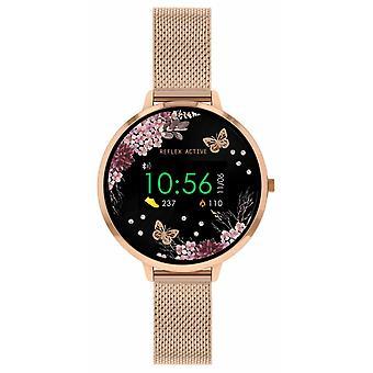 Refleksi Active Series 3 Smart | Ruusu kulta ruostumaton teräs verkkohihna RA03-4038 Watch