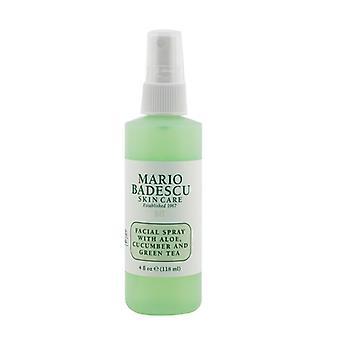 Mario Badescu Facial Spray con Aloe, cetriolo e tè verde - per la pelle tutti i tipi di 118ml / 4oz