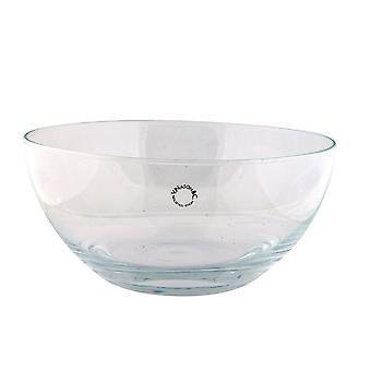 Gemaakt in Italië authentieke Murano glazen vaas effen