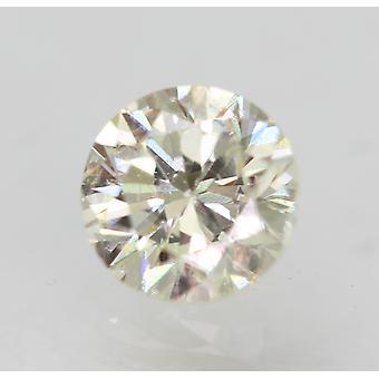 Sertifioitu 0,30 karat J VVS2 pyöreä loistava parannettu luonnollinen löysä timantti 4,18m