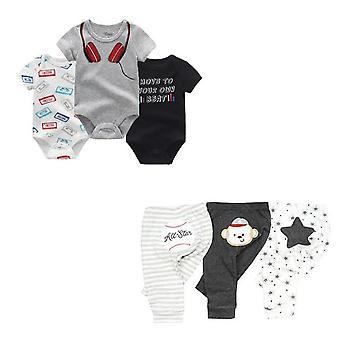 ملابس بدنية وملابس بنطلون، مجموعات قطنية للطفل