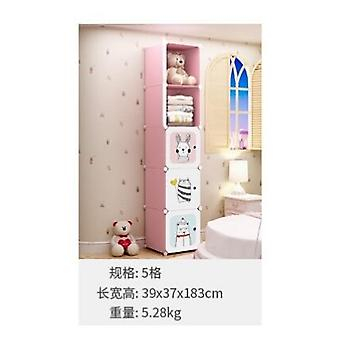 Baby Wardrobe Resin Kids Closet Armoire Enfant Assembly Storage Cabinet
