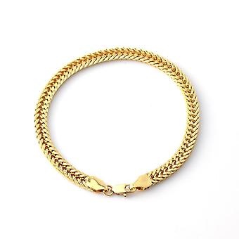 18K gold plated wide chain perfect gift valentines gift