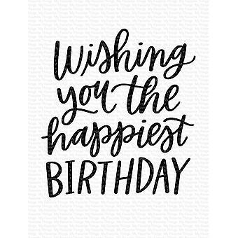 Mijn favoriete dingen gelukkigste verjaardag duidelijke stempels