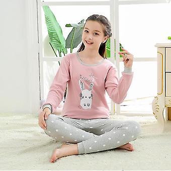 Teenage Pajamas, Long Sleeve,'s Clothing, Sleepwear, Cotton Sets