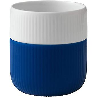Royal Copenhagen 1017329 Fluted Contrast Cup, Silicone, Mega Blue